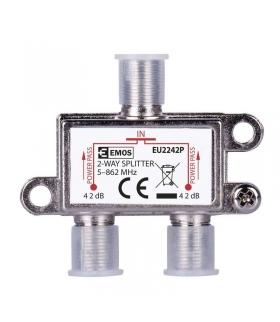 Rozgałęźnik antenowy EU2242P Power Pass EMOS J0002P