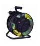 Przedłużacz zwijany gumowy - 4 gniazda, 3x2,5, 25m EMOS P084253