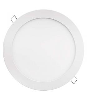 Panel LED wpuszczany okrągły 18W IP20 ciepła biel EMOS ZD1141