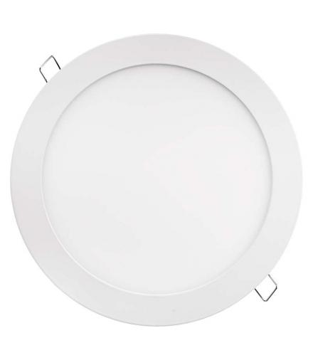 Panel LED wpuszczany okrągły 18W biały IP20 ciepła biel EMOS ZD1141