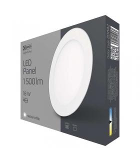 Panel LED wpuszczany okrągły 18W IP20 neutralna biel EMOS ZD1142