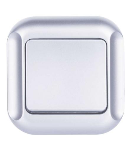Wyłącznik schodowy 1P srebrny EMOS A5310.2