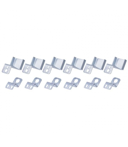 6 haczyków do panelu LED 120×30cm EMOS ZR9011