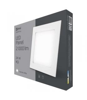 Panel LED wpuszczany kwadratowy 24W IP20 neutralna biel EMOS ZD2152