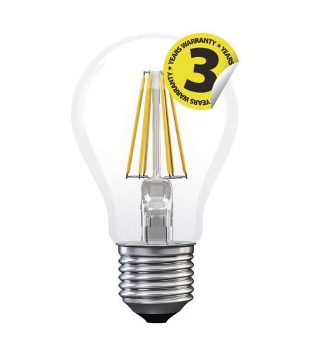 Żarówka LED Filament A60 6W E27 ciepła biel EMOS Z74220