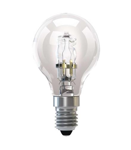 Żarówka halogenowa Eco mini globe 42W E14 ciepła biel EMOS ZE1013