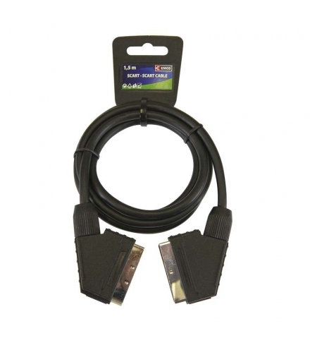 Przewód AV SCART - SCART, ECO, 1,5m EMOS SL2001