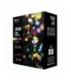 Lampki choinkowe 200 LED kulki 20m MULTIKOLOR, timer EMOS ZY0912T