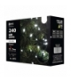 Lampki choinkowe 240 LED 24m CW, timer EMOS ZY0805T
