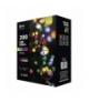 Lampki choinkowe 200 LED kulki 20m IP44 MULTIKOL, 8 progr. EMOS ZY1454