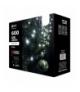 Oświetlenie świąteczne 600 LED sople 10m CW, 8 programów EMOS ZY1448