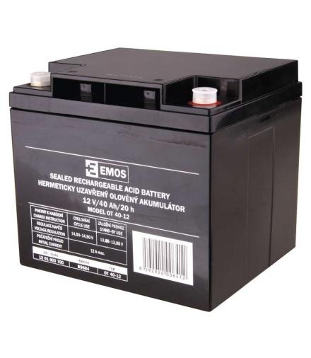 Akumulator AGM 12V 40Ah M6 EMOS B9684