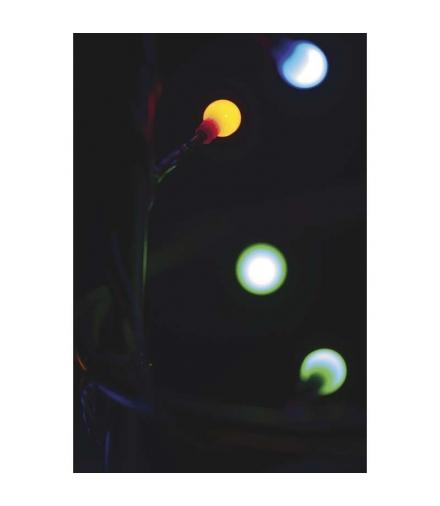 Lampki choinkowe 200 LED kulki 10m IP20 MULTIKOLOR EMOS ZYK0209