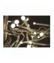 Lampki choinkowe 288 LED gałązka 2,4m WW EMOS ZY1411