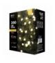 Lampki choinkowe 200 LED kulki 20m WW, timer EMOS ZY1601T