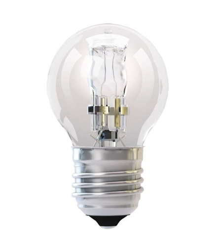 Żarówka halogenowa Eco mini globe 28W E27 ciepła biel EMOS ZE1002