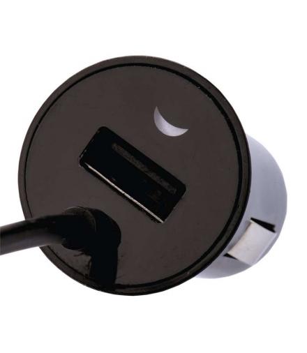 Zasilacz samochodowy 2x USB 2.1A max micro USB EMOS V0223