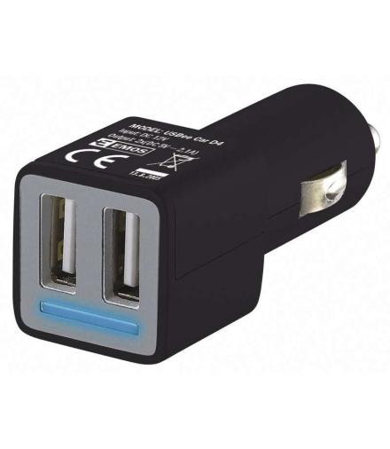 Zasilacz samochodowy 2x USB 4.8A max EMOS V0224