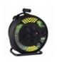 Przedłużacz zwijany gumowy - 4 gniazda, 3x2,5, 50m EMOS P084503