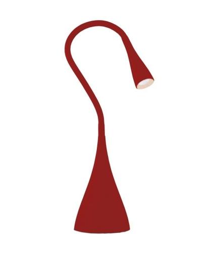 Lampa biurkowa LED DEL-1211R czerwona EMOS Z7553
