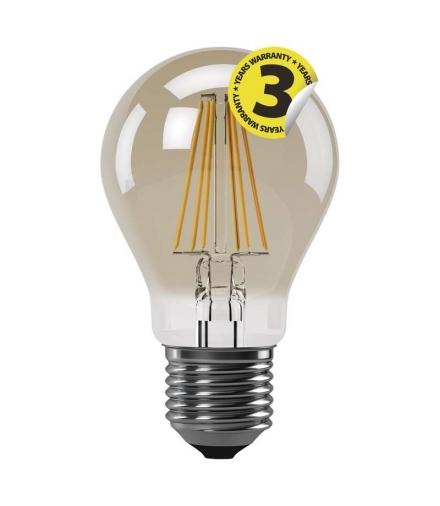 Żarówka LED Vintage A60 4W E27 ciepła biel+ EMOS Z74301