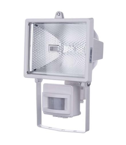 Naświetlacz halogenowy 500W z czujnikiem PIR biały EMOS G2412