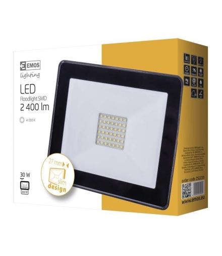 Naświetlacz LED HOBBY SLIM 30W neutralna biel EMOS ZS2231