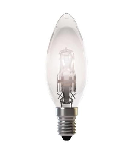 Żarówka halogenowa Eco candle 42W E14 ciepła b. ściemnialna EMOS ZE0903