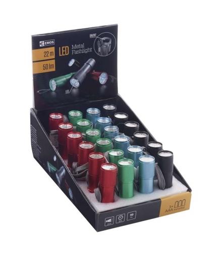 Latarka 9 LED 3x AAA box 24 EMOS P3848A