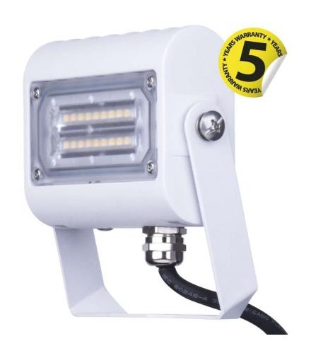 Naświetlacz LED PROFI + 15W neutralna biel , biały EMOS ZS2411