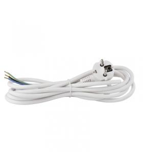 Przewód przyłączeniowy PVC 3×1,0mm, 3m biały EMOS S14313