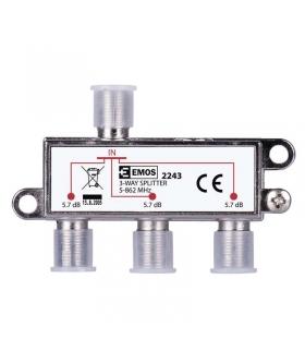 Rozgałęźnik antenowy EU2243 EMOS J0003