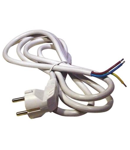 Przewód przyłączeniowy PVC 3×1,0mm, 5m biały EMOS S14315