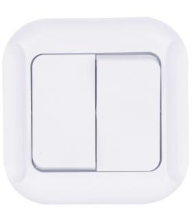 Wyłącznik świecznikowy 2P biały EMOS A5320.0
