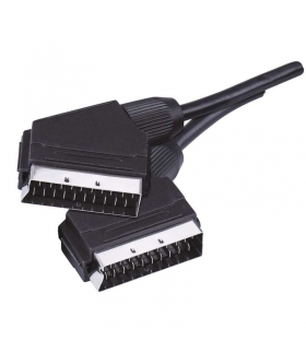 Przewód AV SCART - SCART, 2m EMOS SB2002