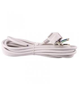 Przewód przyłączeniowy PVC 3×1,5mm, 5m biały EMOS S14325