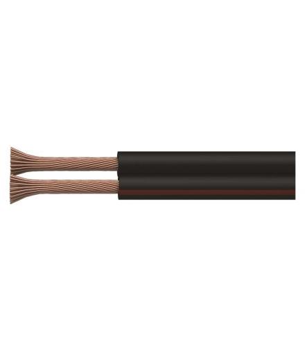 Przewód 2×0,35 czarno/czerwony, 100m EMOS S8230