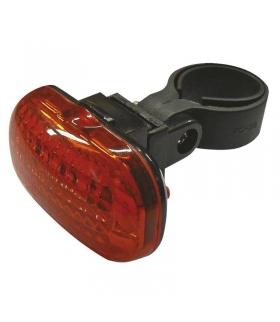 Lampa rowerowa tylna 3 LED 2x AAA EMOS P3910