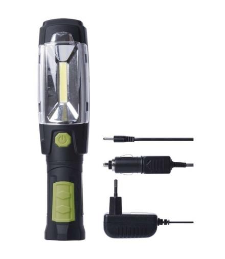 Lampa warsztatowa LED COB 3W + 6 LED ładowalna EMOS P4518