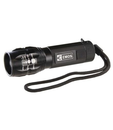 Latarka LED CREE 3W 3x AAA z zoomem EMOS P3830