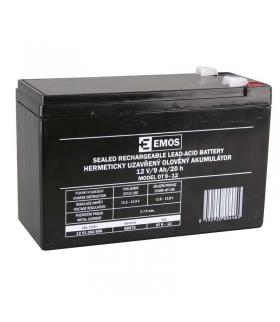 Akumulator AGM 12V 9Ah F6,3 EMOS B9675