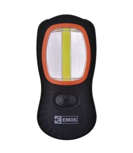 Latarka LED COB + 3 LED 3x AAA EMOS P3883