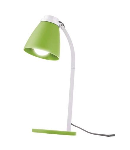 Lampa biurkowa Lolli z żarówką LED 6W E14 zielona EMOS Z7597G