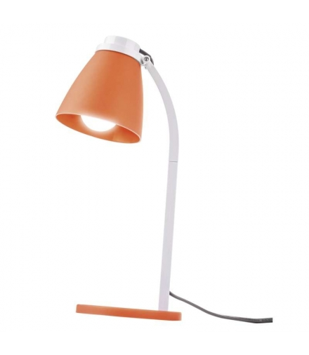 Lampa biurkowa Lolli z żarówką LED 6W E14 pomarańczowa EMOS Z7597O