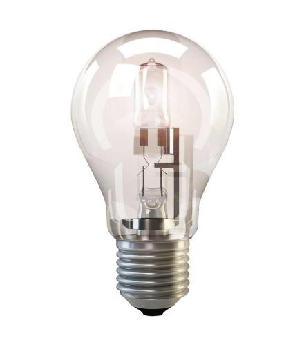 Żarówka halogenowa Eco A60 70W E27 ciepła biel ściemnialna EMOS ZE0801