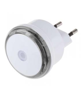 Lampka nocna LED do gniazdka 230V z czujnikiem, 3x LED EMOS P3306