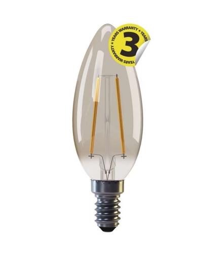Żarówka LED Vintage candle 2W E14 ciepła biel+ EMOS Z74300