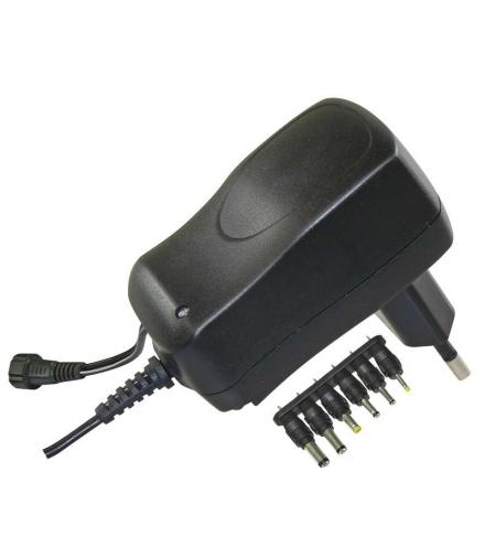 Zasilacz impulsowy 600mA z wymiennymi końcówkami EMOS N3010