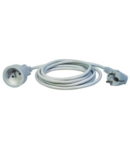 Przedłużacz 1 gniazdo 1,5m biały EMOS P0111