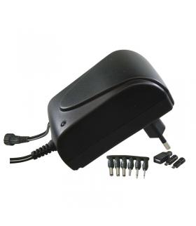Zasilacz impulsowy 1500mA z wymiennymi końcówkami EMOS N3012